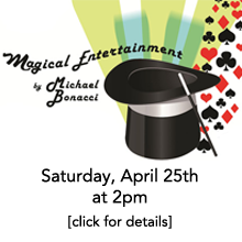 Special Fundraising Event: Magical Entertainment