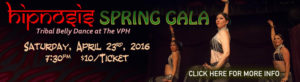Hipnosis Spring Gala banner - April 23, 2016 at 7:30pm