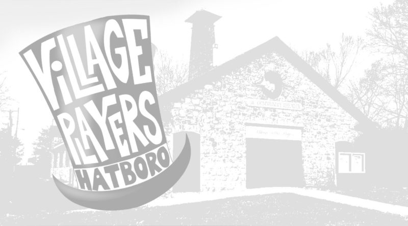 The Village Players of Hatboro logo