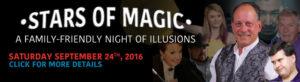 Stars of Magic banner image, September 24th 2016