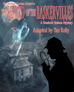The Hound of The Baskervilles program cover art