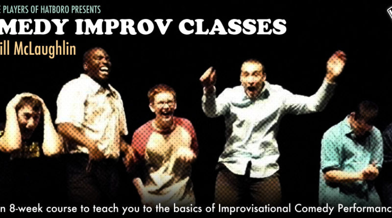 Comedy Improv Classes web banner