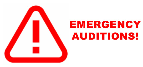 Emergency Auditions
