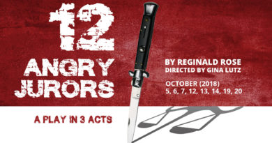 "Auditions for ""12 Angry Jurors"""