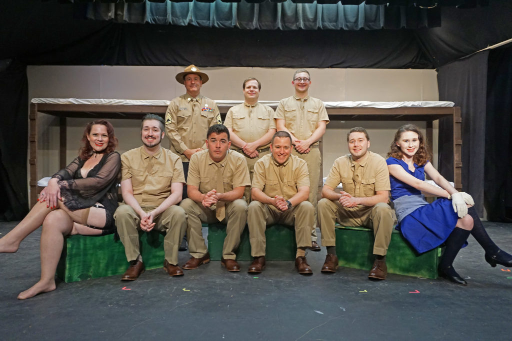The cast of Biloxi Blues